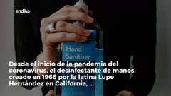 Una latina crea el hand sanitizer