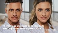 Te mostramos como cambiar tu género en fotos con FaceAPP