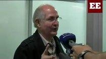 El opositor Antonio Ledezma escapa de arrestro en Caracas y vuela a Madrid