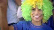 Ronaldinho canta para Olimpiadas Especiales