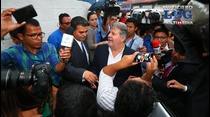 Enrique Rais queda en libertad tras pagar fianza