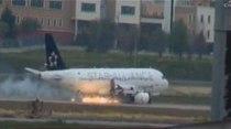 Pasajeros y miembros de la tripulación del avión de Turkish Airlines salieron ilesos