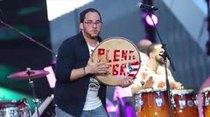La agrupación musical ofreció tremendo espectáculo como parte de las actividades relacionadas a la celebración de los Juegos Panamericanos