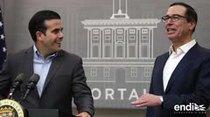 El secretario del Tesoro federal y Ricardo Rosselló logran un pacto