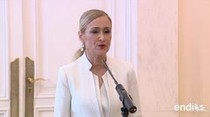 Renuncia presidenta conservadora de Madrid tras escándalos