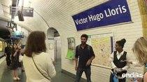 El metro de París renombra las estaciones del metro tras la victoria en el mundial