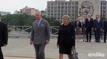 El príncipe Carlos y su esposa Camila llegan a Cuba