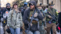 Controversial marcha por las armas de fuego en Virginia