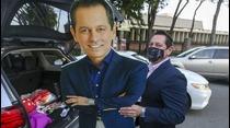 Juan Dalmau sorprende luego de que robaron su pancarta