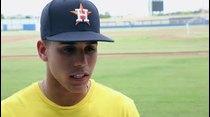 Héctor Nieves, selección de los Astros, habla del sacrificio de viajar de Mayagüez a Carolina para entrenar