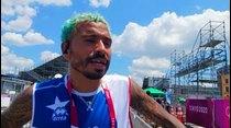 Manny Santiago sobre su debut olímpico: