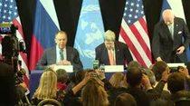 (Video) Acuerdan un cese de hostilidades y ayuda humanitaria a Siria