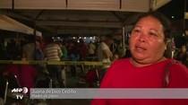 (Video) Desmayos y llantos frente a cárcel de motín en México