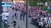 (Video) Así reciben los aficionados en Milán al Real Madrid, previo a la final de la Champions