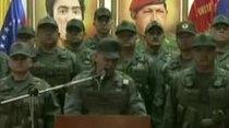(Video) Militares de Venezuela reafirman lealtad a Maduro