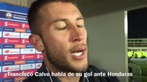 (Video) Francisco Calvo habla de su anotación ante Honduras