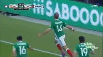 (Video) Chicharito adelanta a México al minuto 7