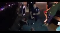 (Video) Justin Bieber golpea a fotógrafo con su carro