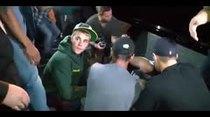 (Video) (Video) Justin Bieber golpea a fotógrafo con su carro