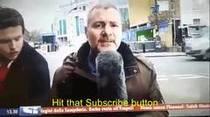 VÍDEO: Robacámara agota la paciencia de periodista