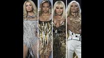 Paris Hilton, Lil' Kim y Karrueche Tran animaron el desfile de The Blonds