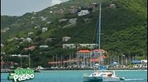 Natasha Martínez emprende un memorable viaje de Island Hopping en las Islas Vírgenes Británicas desde la Marina Moorings en Tortola a bordo de un catamarán de Motor, en este viaje nos presenta las islas de Salt, Norman y Cooper Island.