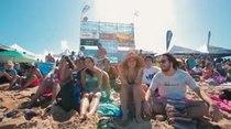 La acción en las olas se desató en la playa Middles de Isabela.