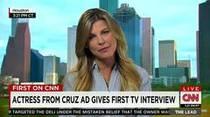Actriz porno habla del anuncio de Ted Cruz