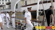 Visita del buque español