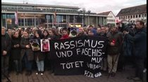 Vigilias en honor a las víctimas de dos tiroteos racistas en Alemania