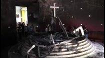 Escalofriante explosión en catedral de Nicaragua