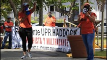 Piquete en el Capitolio por la UPR