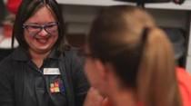 Tamara Díaz, una joven con síndrome de Down que sorprende a su madre todos los días