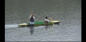Competencia de canoa de hormigón