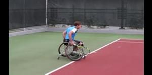 Más que un deporte el tenis sobre silla de ruedas