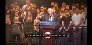 Bernie Sanders presenta anuncio para su campaña en Puerto Rico