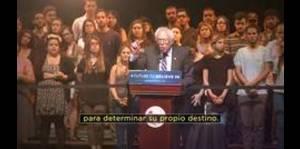 Bernie Sanders presenta anuncio para su campaña en Puerto...