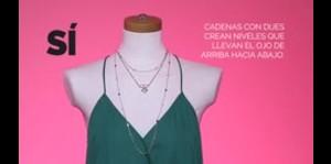 Cómo combinar collares