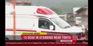 Hombre ataca con cuchillo a decenas de personas en Japón