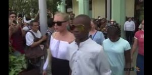Madonna baila en las calles de Cuba