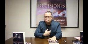"""Robert Morgalo presenta el libro """"Decisiones"""""""