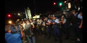 Autoridades dispersan a los manifestantes