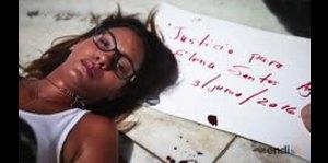 Alba Reyes exige justicia para su madre