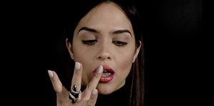 Vistosa moda de labios ombré