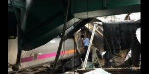 Impresionante accidente de tren en Nueva Jersey