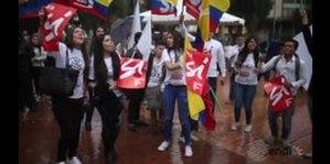 """Salen a la calle para impulsar el """"sí"""" en Colombia"""