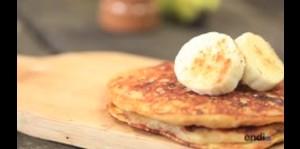 Receta del día: Pancakes de banana
