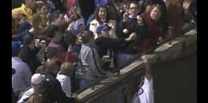 El famoso atrape de pelota de Steve Bartman