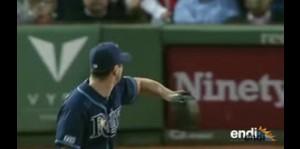 Así ocurre una contusión en el béisbol