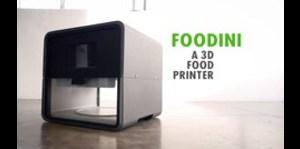 Máquina para imprimir alimentos